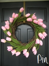 tulip wreath 1