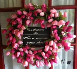 tulip wreath 21